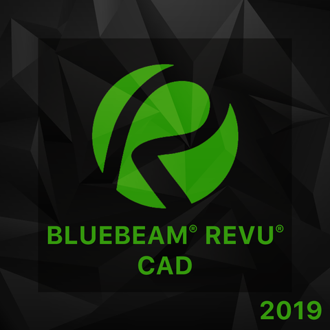 Bluebeam Revu CAD 2019 - 1 seat (Tier 1-49 seats)