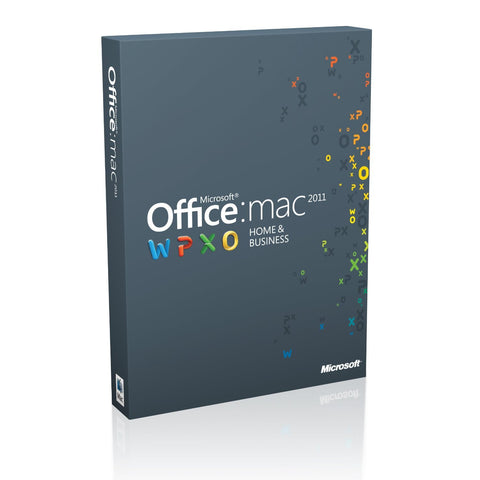 Microsoft Office Home and Business 2011 for Mac 1 User License