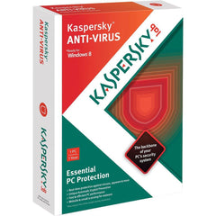 Kaspersky Antivirus - 1 PC 1 Year Retail Package - MyChoiceSoftware.com