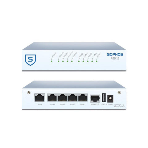 Sophos RED 15 (Remote Ethernet Device) Appliance