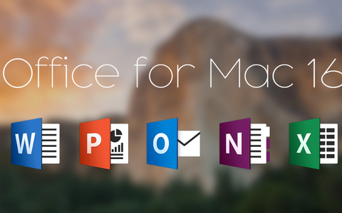 (Renewal) Microsoft Office 2016 365 for Mac