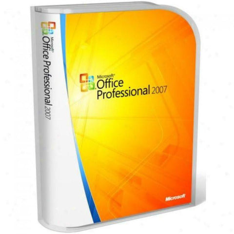 Microsoft Office Professional 2007 - PC - License - MyChoiceSoftware.com - 1