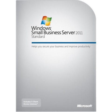 Microsoft Windows Small Business Server 2011 64-bit - 5 CAL Suite - MyChoiceSoftware.com