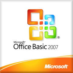 Microsoft Office 2007 Basic Retail Box - MyChoiceSoftware.com - 1