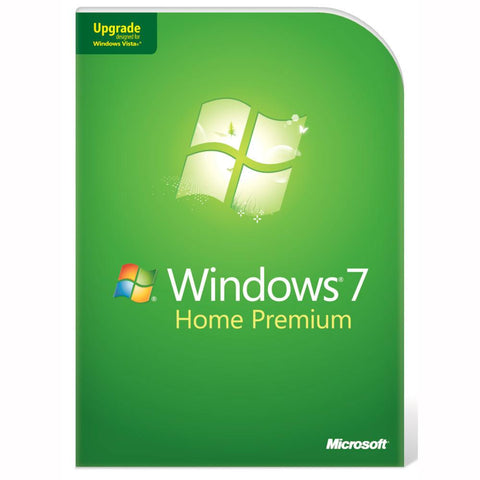 Microsoft Windows 7 Home Premium Upgrade Box - MyChoiceSoftware.com
