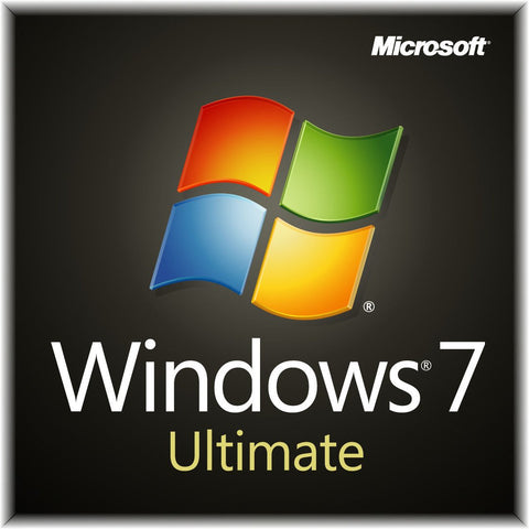 Microsoft Windows 7 Ultimate - 1 PC - DVD + License - 32-bit - MyChoiceSoftware.com