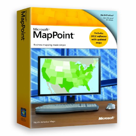 Microsoft MapPoint 2011 - North America PC License - MyChoiceSoftware.com