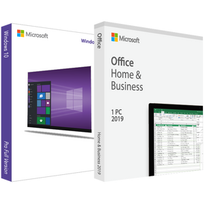 Microsoft Windows 10 Pro with Home and Business 2019 - License Deal