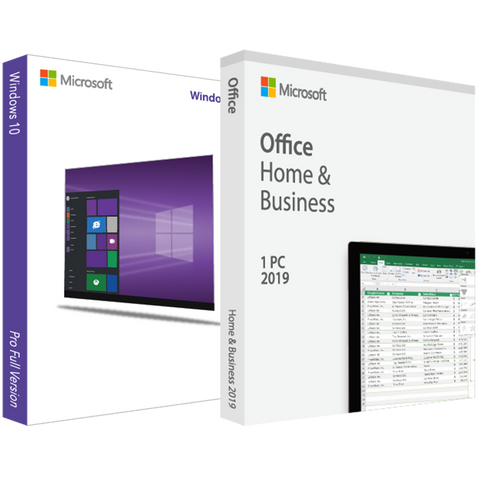 Microsoft Windows 10 Pro with Home and Business 2019 - License