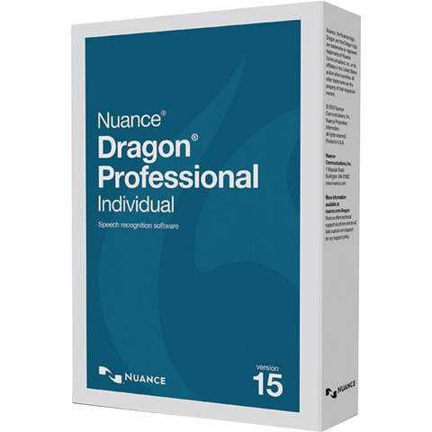 Nuance Dragon Professional Individual V.15