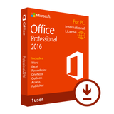 Microsoft Office Professional 2016 Download International License