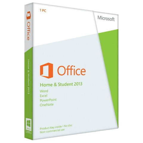 Microsoft Office 2013 Home and Student Retail Box for GSA #1