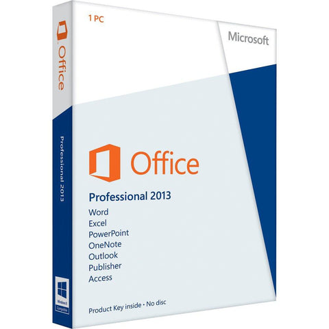 Microsoft Office 2013 Professional Instant Download 32/64 bit - MyChoiceSoftware.com