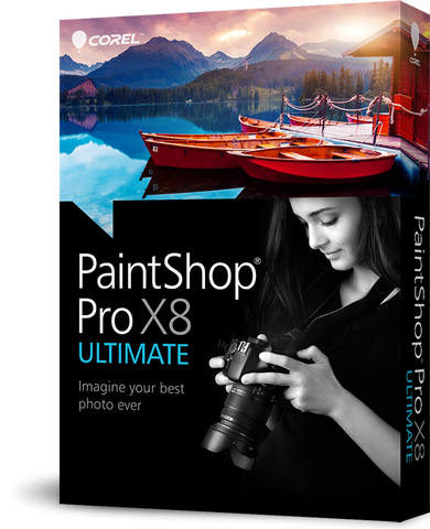 Corel PaintShop Pro X8 Ultimate - MyChoiceSoftware.com