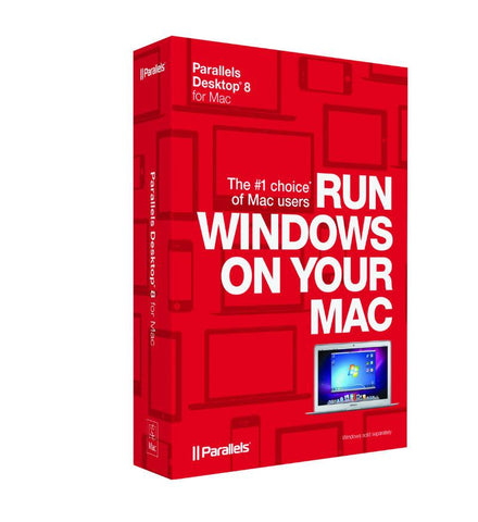 Parallels Desktop 8 for Mac License - MyChoiceSoftware.com