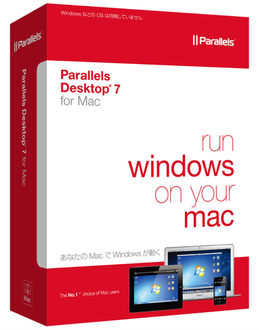 Parallels Desktop 7 for Mac Download License - MyChoiceSoftware.com