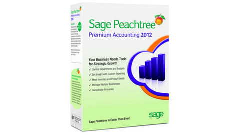 Peachtree Premium Accounting 2012  - Full Retail Box - MyChoiceSoftware.com