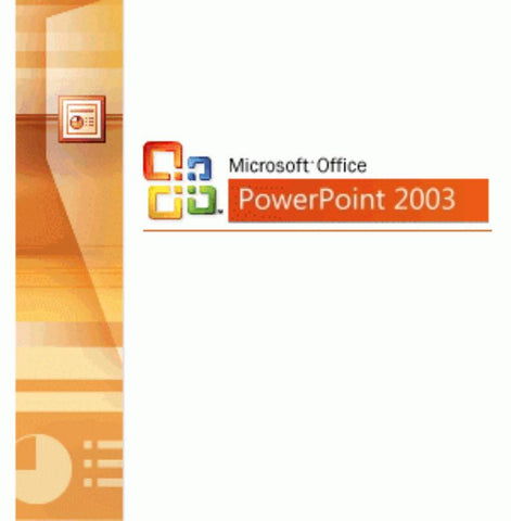 Microsoft Office Powerpoint 2003 Retail Box.