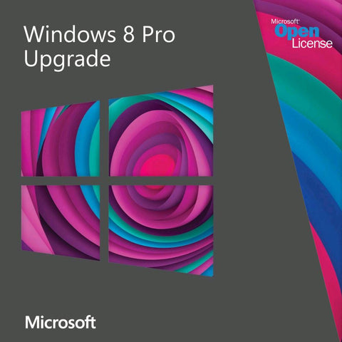 Microsoft Windows 8 Professional Upgrade Open License