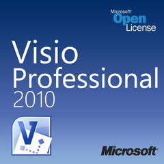 Microsoft Visio Professional 2010 Open License