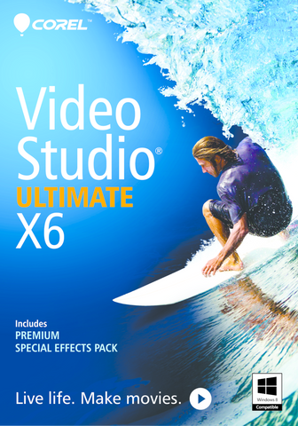 Copy of Corel Videostudio Ultimate X6 Retail Box