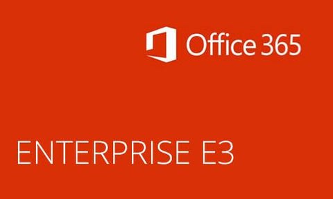 Microsoft Office 365 Enterprise E3 CSP License (Monthly).