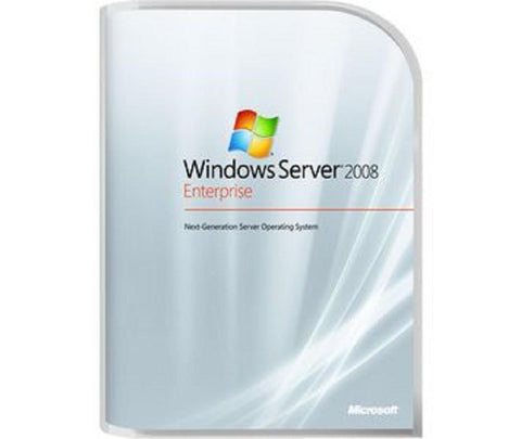 Microsoft Windows Server 2008 R2 Enterprise SP1 10 CALs