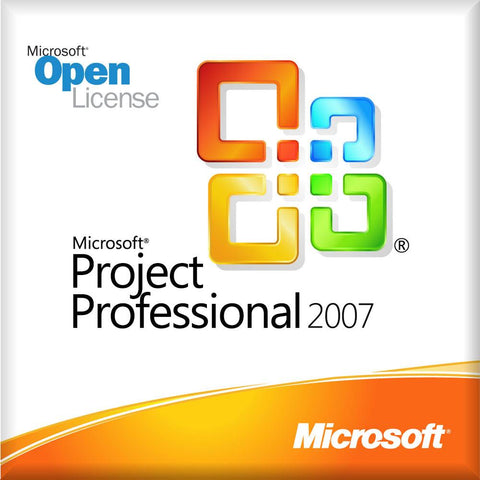 Microsoft Project 2007 Professional Open License