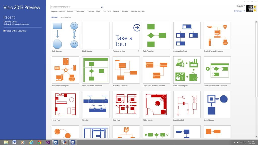 micosoft vision Microsoft Visio 2013 Professional License PC | MyChoiceSoftware.com