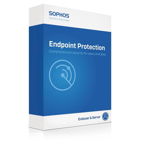 Sophos Cloud Endpoint Protection Advanced 1 Year Subscription Per User (25-49 Users)