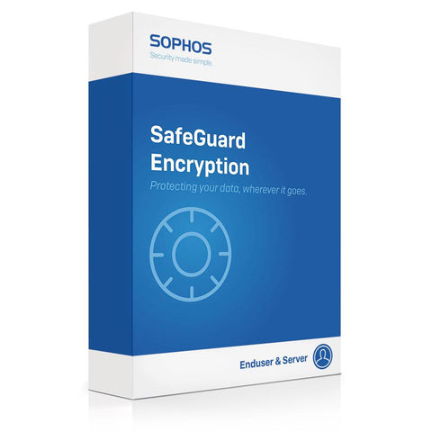 Sophos Data Protection Suite 1 Year Subscription - Per User Pricing (100-199 Users).