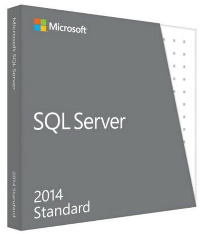 Microsoft SQL Server Standard Edition 2014 with 10 Clients - MyChoiceSoftware.com