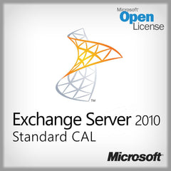 Microsoft Exchange Server 2010 Standard CAL - License