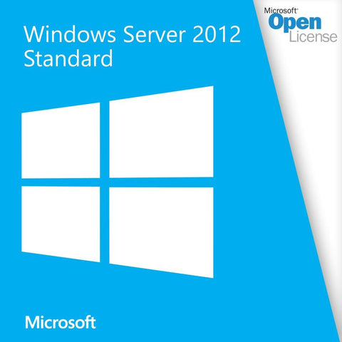 Microsoft Windows Server 2012 Standard License Open License