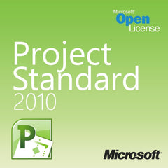 Microsoft Project 2010 Standard Open License