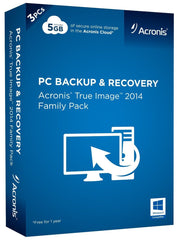 Acronis True Image 2014 Family Pack - MyChoiceSoftware.com