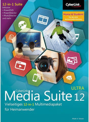Cyberlink Media Suite 12 Ultra - MyChoiceSoftware.com