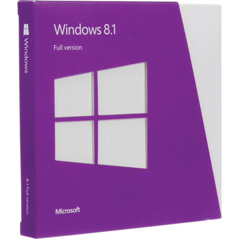 Microsoft Windows 8.1, 32/64 bit License