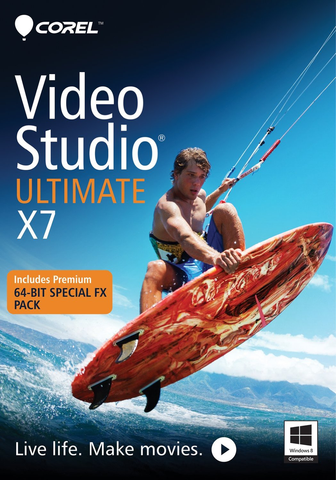 Corel VideoStudio Ultimate X7 Retail Box - MyChoiceSoftware.com