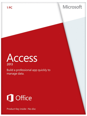 Microsoft Access 2013 with Media - Retail Box - MyChoiceSoftware.com - 1