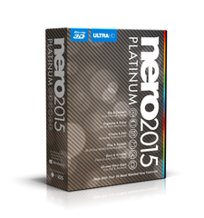 Nero 2015 Platinum - PC - 1 user License - MyChoiceSoftware.com