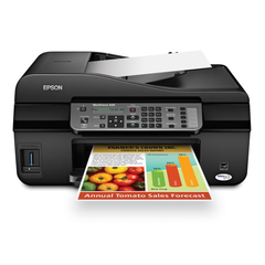 Epson WorkForce WF-2540 Wireless Color All-in-One Inkjet Printer with Scanner and Copier - MyChoiceSoftware.com
