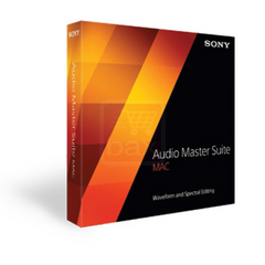 Sony Audio Master Suite Mac - MyChoiceSoftware.com