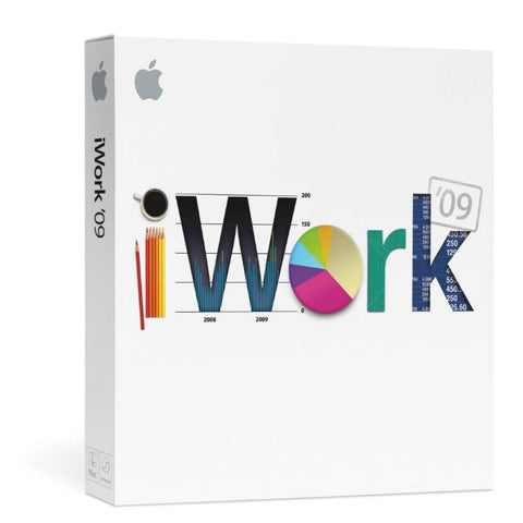 Apple iWork '09 Download - 1 user - 5 MAC - MyChoiceSoftware.com