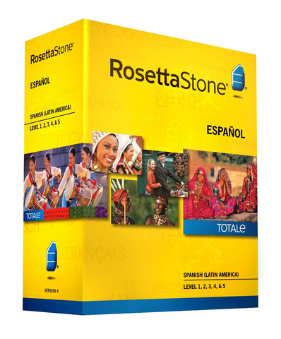Rosetta Stone Homeschool Spanish (Latin America) Level 1-5 Set - MyChoiceSoftware.com