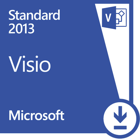 Microsoft Visio 2013 Standard Retail Box for GSA #1