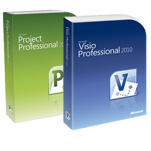 Microsoft Project 2010 Pro + Visio 2010 Pro Deal