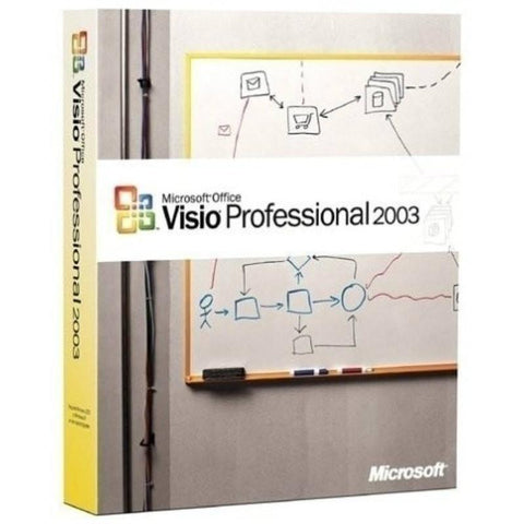 Microsoft Office Visio 2003 Professional Retail Box - MyChoiceSoftware.com