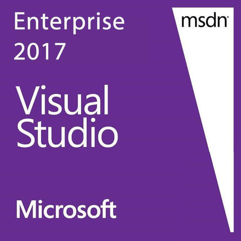Microsoft Visual Studio Enterprise 2017 International License