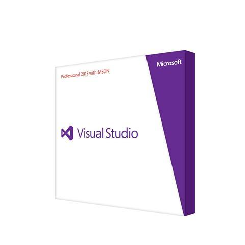 Microsoft Visual Studio Test Professional 2013 with MSDN - Box Pack (Renewal)